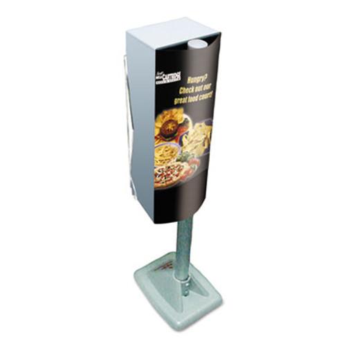 Scott Mega Cartridge Napkin System Dispenser  8 3 4 x 6 3 8 x 23 1 4  Gray (KCC 09023)