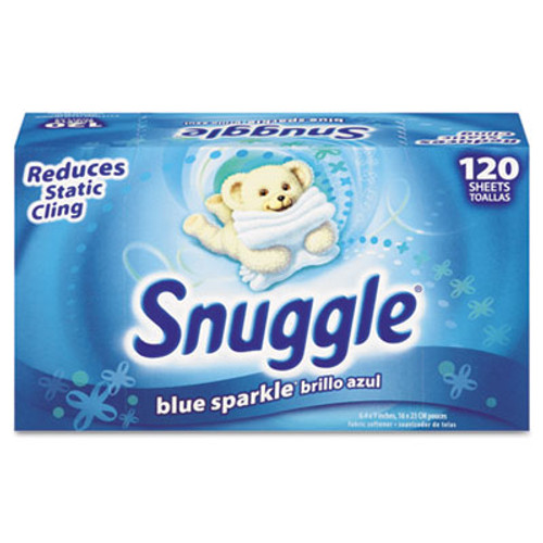 Snuggle Fabric Softener Sheets, Fresh Scent, 120 Sheets/Box (DVO CB451156)