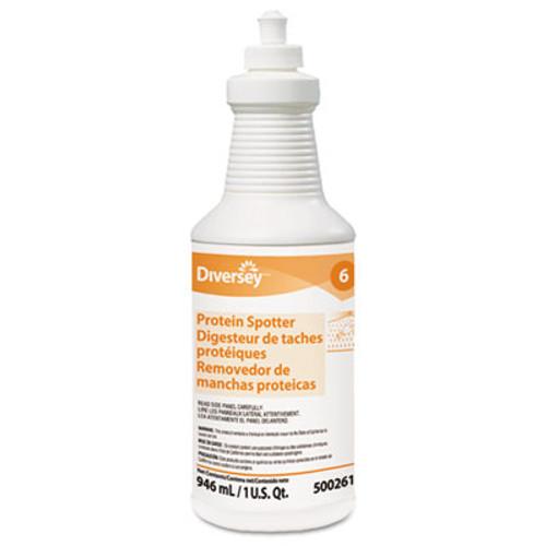 Diversey Protein Spotter  Fresh Scent  32 oz Bottle  6 Carton (DVO 5002611)