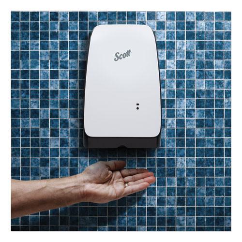 Scott Electronic Skin Care Dispenser  1200 mL  7 3  x 4  x 11 7   White (KCC 32499)