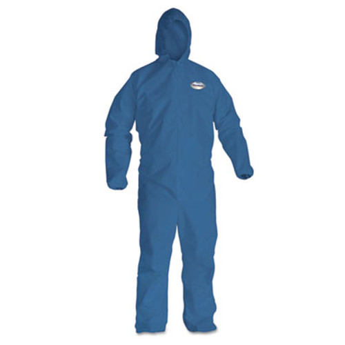 KleenGuard* A20 Breathable Particle Protection Coveralls, X-Large, Blue, 24/Carton (KCC 58514)
