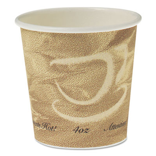 Dart Single Sided Poly Paper Hot Cups  4 OZ  Mistique design (SCC 374MS)