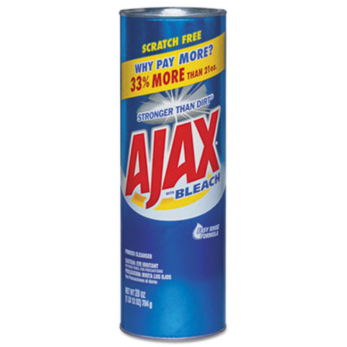 Ajax Powder Cleanser with Bleach  28 oz Canister  12 Carton (CPC 05374)
