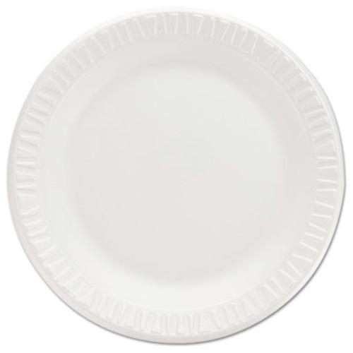 "Dart Non-Laminated Foam Dinnerware, Plates, 7""Diameter, White,125/Pack,8/Carton (DCC 7PWCR)"