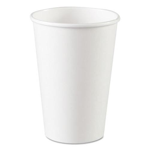 Dixie Paper Cups  Hot  16 oz  White  1000 Carton (DIX 2346W)