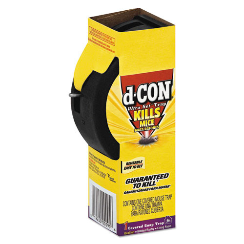 d-CON Ultra Set Covered Snap Trap  Plastic (REC 00027)