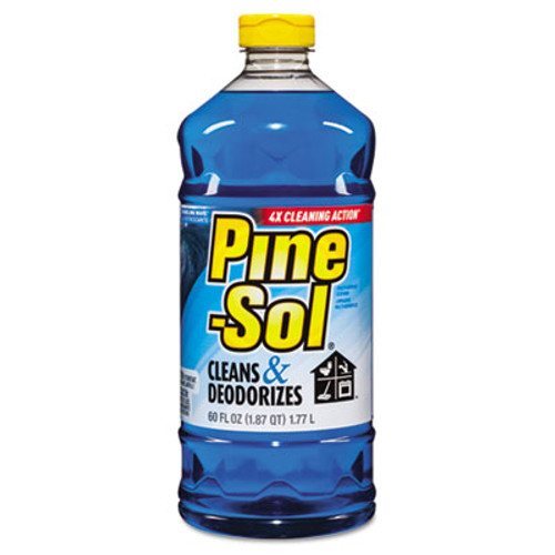 Pine-Sol All-Purpose Cleaner, Sparkling Wave, 60 oz, 6 Bottles/CT (CLO 40238)