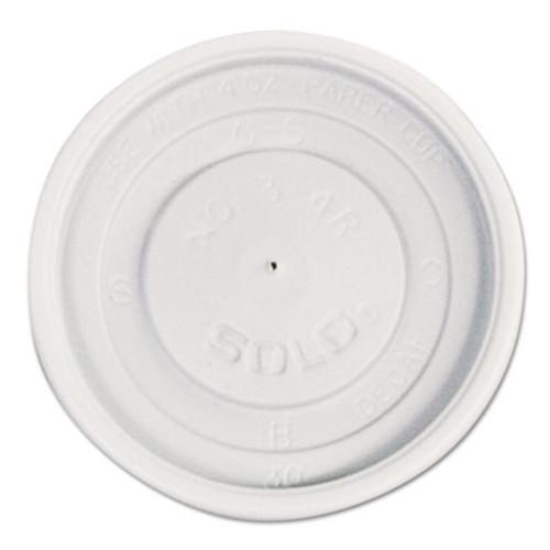 Dart Polystyrene Vented Hot Cup Lids  4oz Cups  White  100 Pack  10 Packs Carton (SCC VL34R-0007)