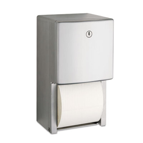 Bobrick ConturaSeries Two-Roll Tissue Dispenser  6 1 16  x 5 15 16  x 11  (BOB 4288)