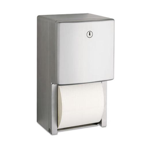 Bobrick ConturaSeries Two-Roll Tissue Dispenser  6 1 16  x 5 15 16  x 11  (BOB 4288)
