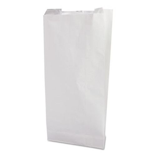 Bagcraft ToGo  Foil Insulator Deli and Sandwich Bags  5 25  x 12   White Unprinted  500 Carton (BGC 300496)