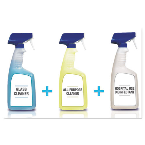 Spic and Span Disinfecting All-Purpose Spray and Glass Cleaner  Fresh Scent  32 oz Spray Bottle  8 Carton (PGC 58775)