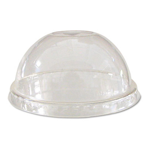 Eco-Products GreenStripe Renew & Comp Cold Cup Dome Lids, Fits 9-24oz., 100/PK, 10 PK/CT (ECP EP-DLCC)