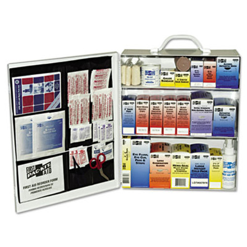 Pac-Kit Industrial Station First Aid Kit  440 Items  Metal Case (PKT6155)