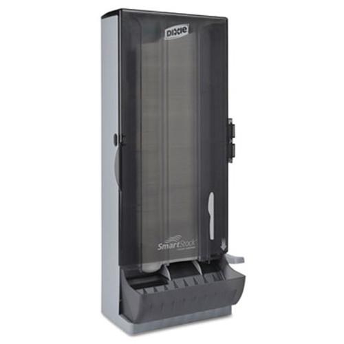 Dixie SmartStock Utensil Dispenser  Knife  10  x 8 78  x 24 75   Smoke (DXESSKPD120)
