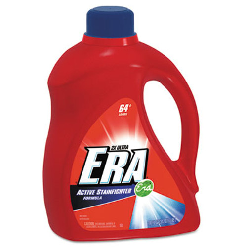 Era Active Stainfighter Liquid Laundry Detergent, Original, 100oz Bottle, 4/Carton (PGC 12891)