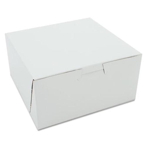 SCT Non-Window Bakery Boxes, 6 x 6 x 3, White, 250/Carton (SCH 0905)