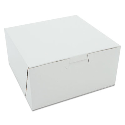 SCT Non-Window Bakery Boxes  6 x 6 x 3  White  250 Carton (SCH 0905)