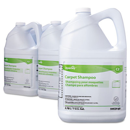 Diversey Carpet Shampoo  Floral  1gal Bottle  4 Carton (DVO 5002689)