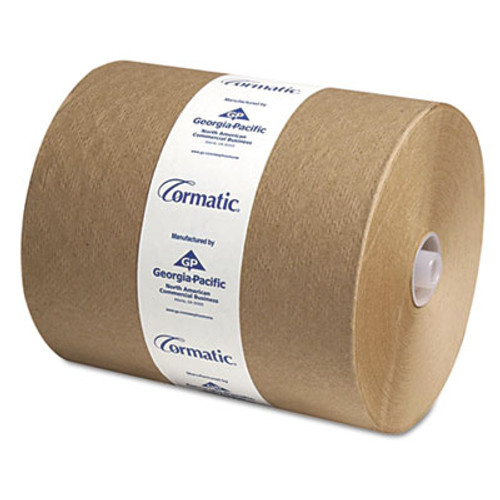Georgia Pacific Professional Hardwound Roll Towels  8 1 4 x 700ft  Brown  6 Carton (GPC 2910P)