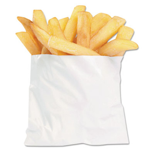 Bagcraft French Fry Bags  4 5  x 3 5   White  2 000 Carton (BGC 450003)
