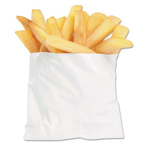 Bagcraft French Fry Bags  4 5  x 3 5   White  2 000 Carton (BGC 450003)