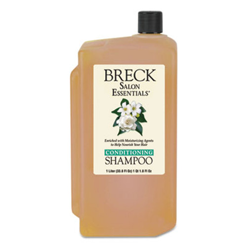 Breck Shampoo Conditioner  Pleasant Scent  1 L Bottle  8 Carton (DIA 10002)