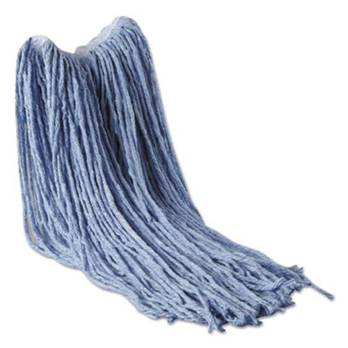Rubbermaid Commercial Synthetic Blend Mop Head  16 oz  1  Headband  Blue  6 Carton (RCP F131 SBL)