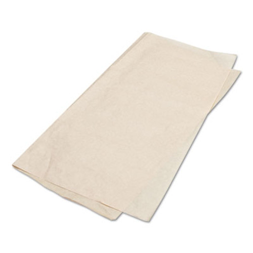 Bagcraft EcoCraft Grease-Resistant Paper Wraps and Liners  Natural  15 x 16  1000 Box  3 Boxes Carton (BGC 300898)