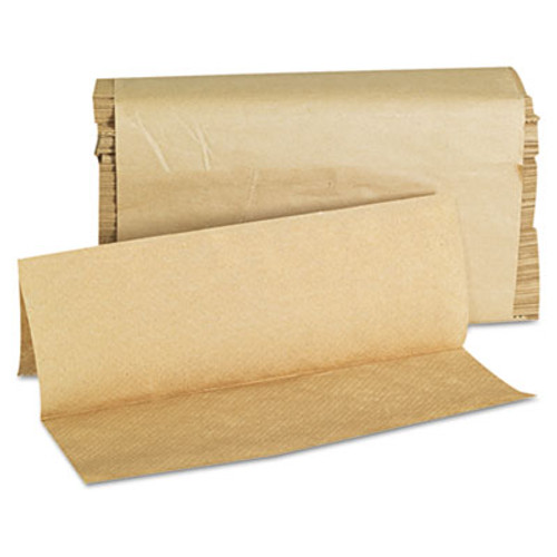 GEN Folded Paper Towels, Multifold, 9 x 9 9/20, Natural, 250 Towels/PK, 16 Packs/CT (GEN 1508)