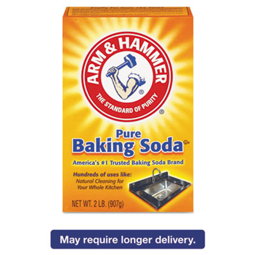 Arm & Hammer Baking Soda, 2lb Box, 12/Carton (CDC 33200-01140)