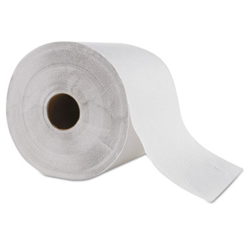 """General Supply Hardwound Roll Towel, 1-Ply, White, 8"""" x 700 ft, 6 Roll/Carton (GEN 1827)"""