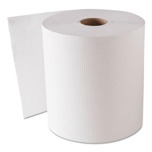 GEN Hardwound Roll Towels  White  8  x 800 ft  6 Rolls Carton (GEN 1820)