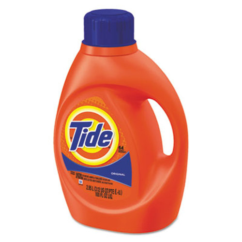 Tide Ultra Liquid Laundry Detergent, Original Scent, 3.1 qt. Bottle, 4/CT (PGC 13882CT)
