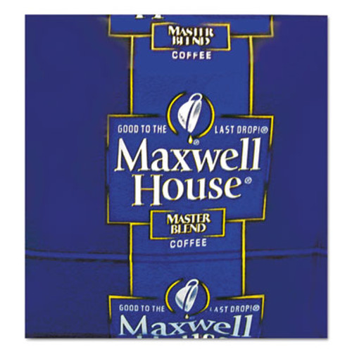 Maxwell House Coffee  Regular Ground  1 1 oz Pack  42 Carton (MRC FVS866350)
