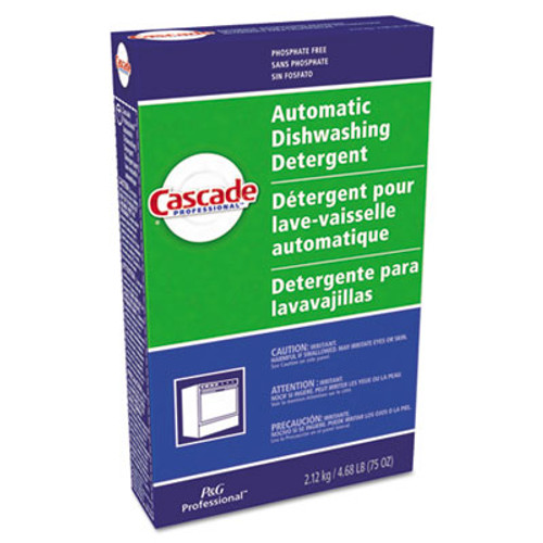 Cascade Automatic Dishwasher Powder  Fresh Scent  75 oz Box (PGC 59535CT)