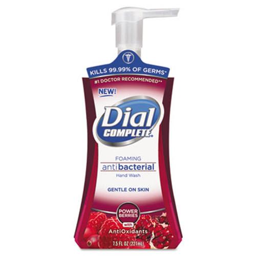 Dial Antibacterial Foaming Hand Wash, Power Berries, 7.5 oz Pump Bottle (DIA03016)