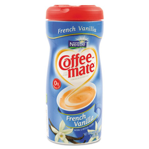 Coffee mate French Vanilla Creamer Powder  15oz Plastic Bottle (NES 35775CT)