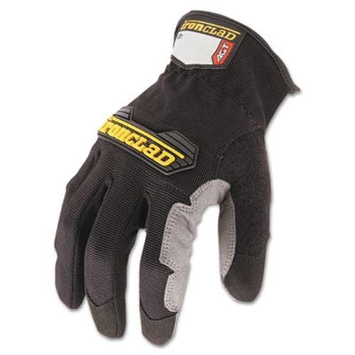 Ironclad Workforce Glove  Large  Gray Black  Pair (IRNWFG04L)