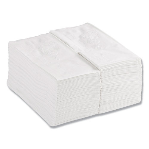 Georgia Pacific Professional 1 8 Fold Dinner Napkins  15 x 16  White  100 Pack (GPC 31436CT)