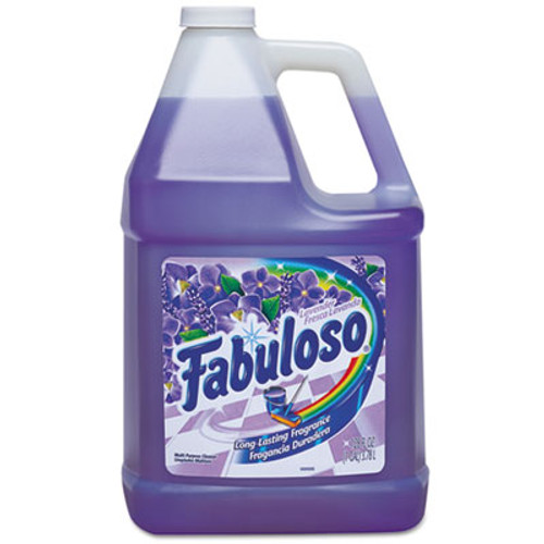 Fabuloso Multi-use Cleaner, Lavender Scent, 1 gal Bottle, 4/Carton (CPC 53058)