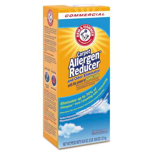 Arm & Hammer Carpet and Room Allergen Reducer and Odor Eliminator  42 6 oz Shaker Box (CDC3320084113)