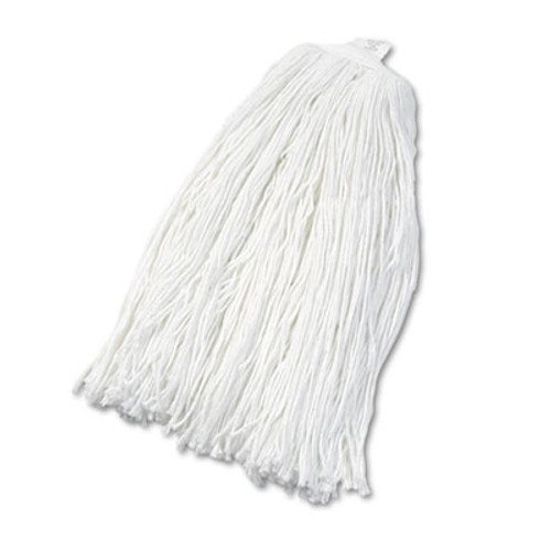 Boardwalk Cut-End Wet Mop Head, Rayon, No. 32, White, 12/Carton (UNS 2032RCT)