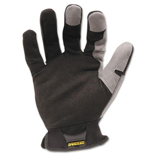 Ironclad Workforce Glove  X-Large  Gray Black  Pair (IRNWFG05XL)