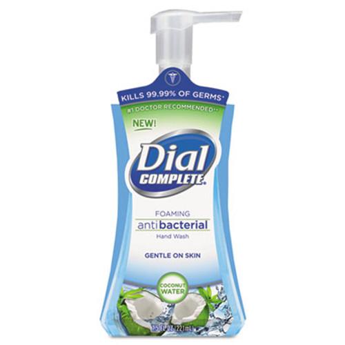 Dial Antibacterial Foaming Hand Wash  Coconut Waters  7 5 oz Pump Bottle (DIA 09316CT)