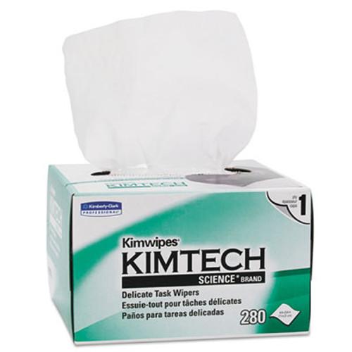Kimtech Kimwipes  Delicate Task Wipers  1-Ply  4 2 5 x 8 2 5  280 Box 16800 Ct (KCC 34155CT)