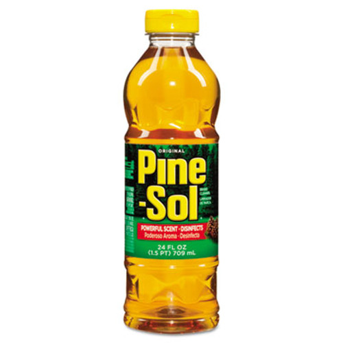 Pine-Sol Multi-Surface Cleaner Disinfectant  Pine  24 oz Bottle (CLO97326)