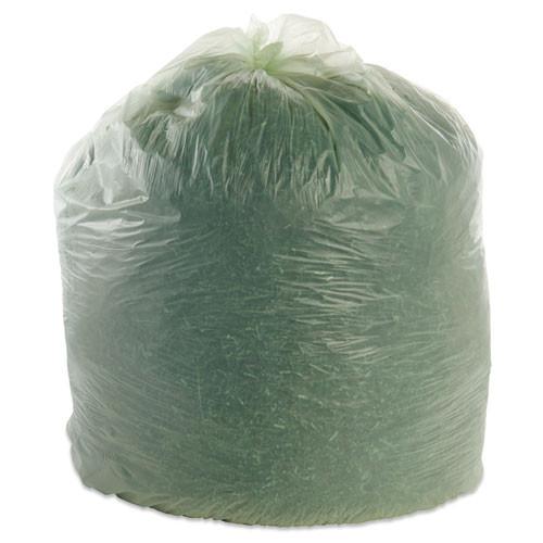Stout by Envision EcoSafe-6400 Bags  64 gal  0 85 mil  48  x 60   Green  30 Box (STO E4860E85)
