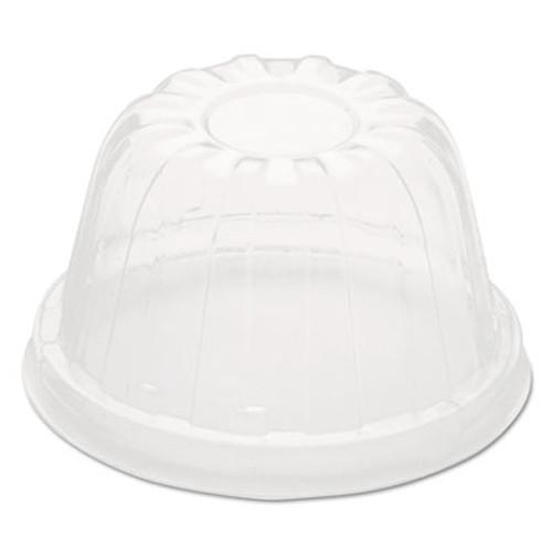 Dart D-T Sundae Cold Cup Lids  Fits Foam Cups  Clear  1 000 lids CT  50 PK  20PK CT (DCC 12HDLC)