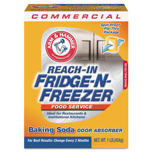 Arm & Hammer Fridge-n-Freezer Pack Baking Soda  Unscented  16 oz  Powder (CDC3320084011)